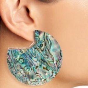 Kendra Scott Abalone Shell Kai Earrings. NWT